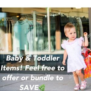 Baby and toddler boutique & home items